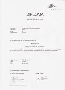 Bestrating diploma